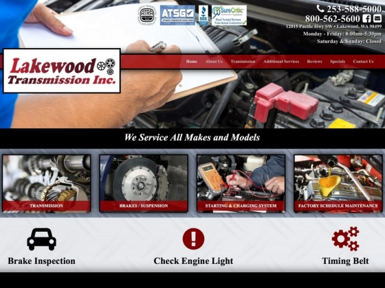 Lakewood Transmission Inc. & Complete Auto Service
